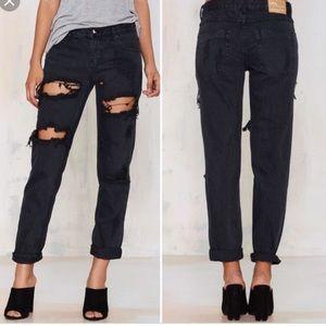 ONE by One Teaspoon Black Jeans Size 26